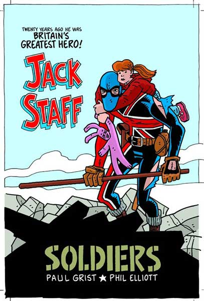 Image: Jack Staff Vol. 2: Soldiers SC  - Image Comics
