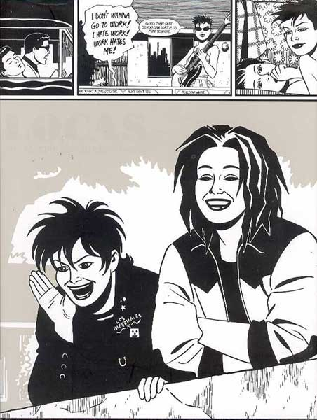Image: Locas: A Love & Rockets Book HC  - Fantagraphics Books
