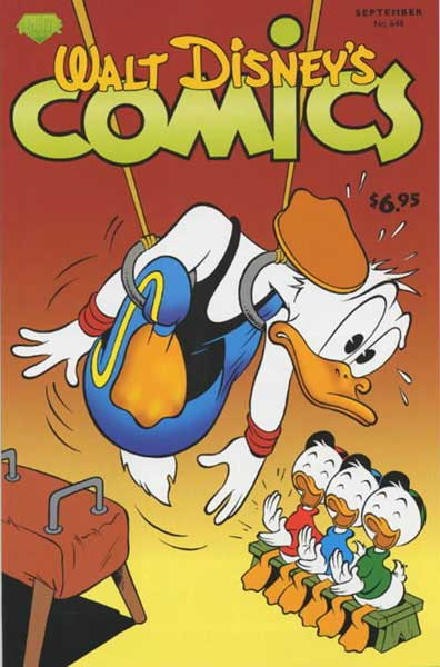 Image: Walt Disney's Comics & Stories #648 - Gemstone Publishing