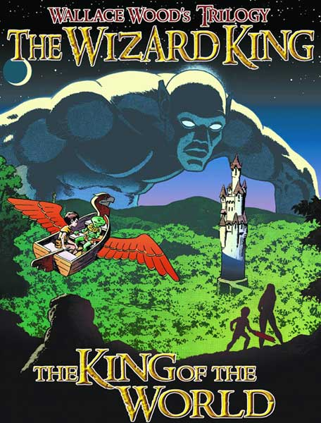 Image: Wizard King Trilogy Book 1: King of the World SC  - Vanguard