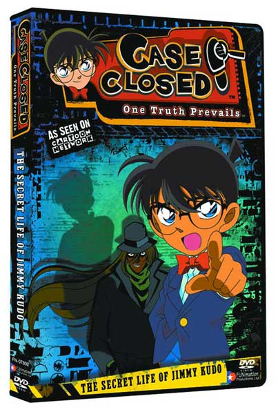Image: Case Closed Vol. 1 & 2 DVD Starter Set  (w/Artbox) -