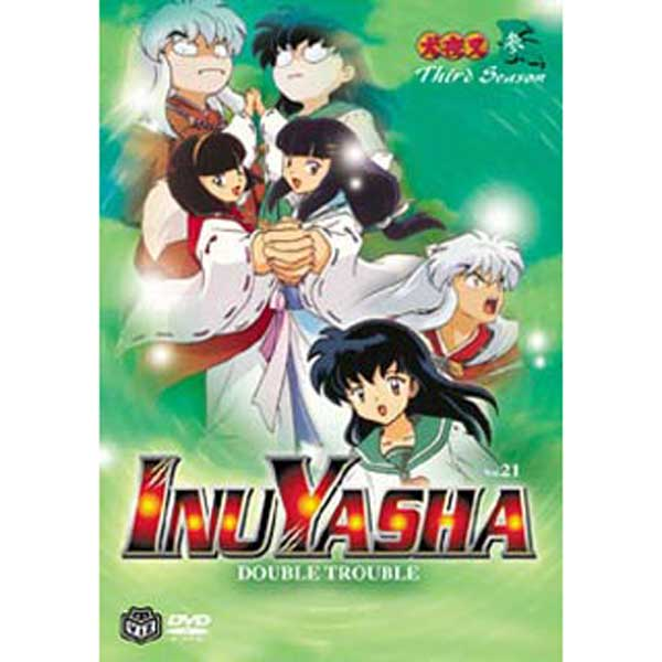 Image: Inuyasha Vol. 21: Double Trouble DVD  -