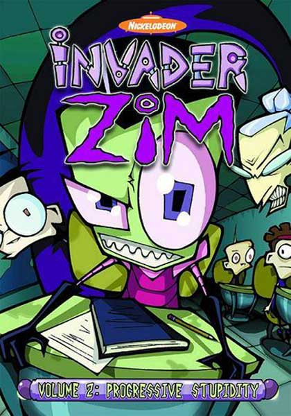 Image: Invader Zim Vol. 02: Progressive Stupidity DVD  -