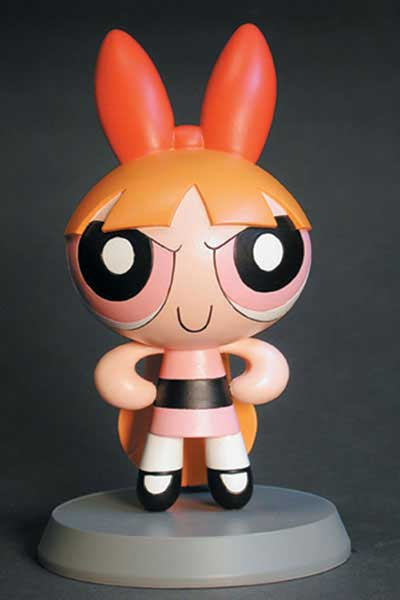 Image: Powerpuff Girls 5-Inch Maquette: Blossom  -