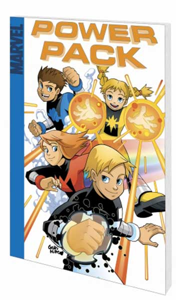 Image: Power Pack: Pack Attack  (digest) - Marvel Comics