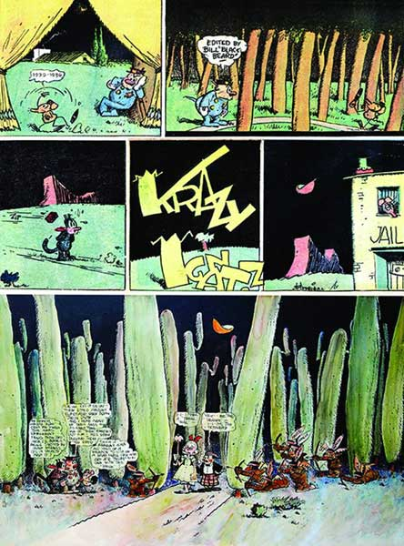 Image: Krazy & Ignatz: A Wild Warmth of Chromatic Gravy  (1935-36) SC - Fantagraphics Books