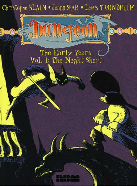 Image: Dungeon: Early Years Vol. 1 - Night Shirt SC  - NBM