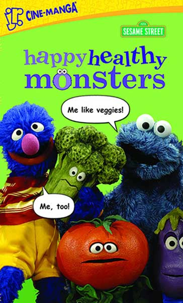 Image: Sesame Street Cine-Manga Vol. 02: Happy Healty Monsters SC  - Tokyopop Cine-Manga