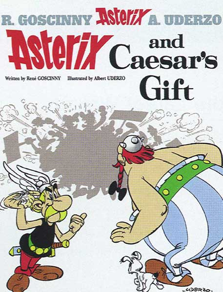 Image: Asterix #21: Asterix and Caesar's Gift SC  - Sterling Publishing