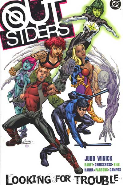 Image: Outsiders Vol. 01: Looking for Trouble SC  - DC Comics