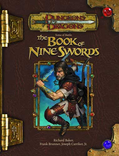 Image: Dungeons & Dragons Tome of Battle: Book of Nine Swords HC  -