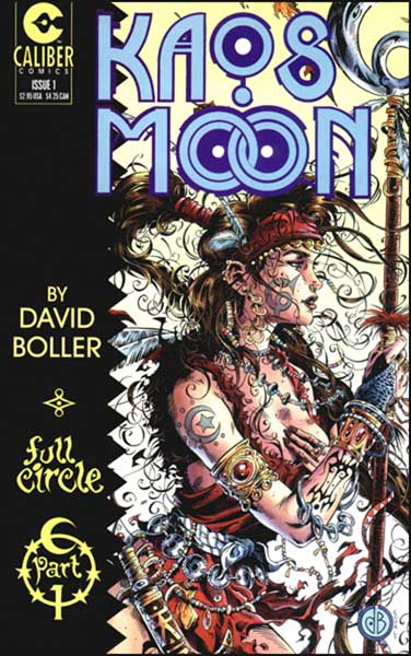 Image: Kaos Moon #1 (regular cover) - Caliber