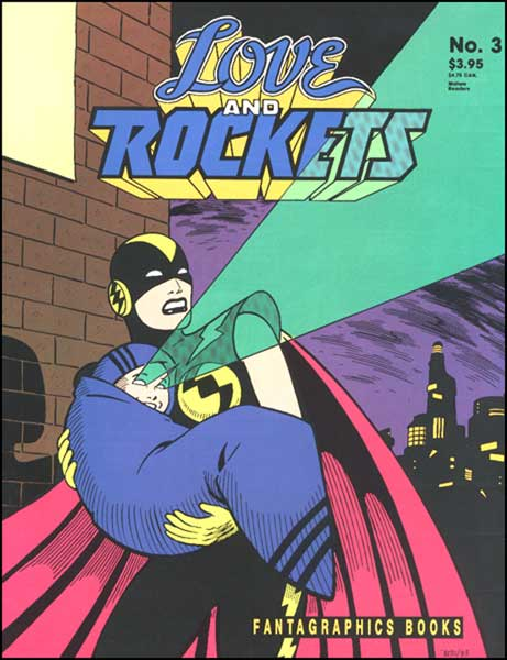 Image: Love and Rockets #3 (2nd printing) - Fantagraphics Books