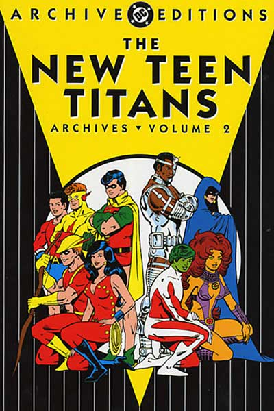 Image: New Teen Titans Archives Vol. 02 HC  - DC Comics