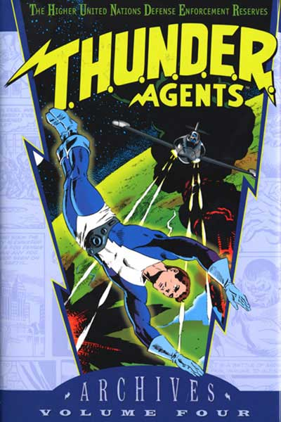 Image: T.H.U.N.D.E.R. Agents Archives Vol. 04 HC  - DC Comics