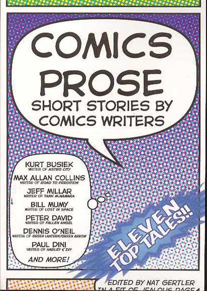Image: Comics Prose Vol. 1 SC  - About Comics
