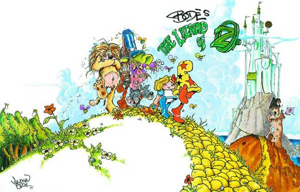 Image: Lizard of Oz SC  - Fantagraphics Books