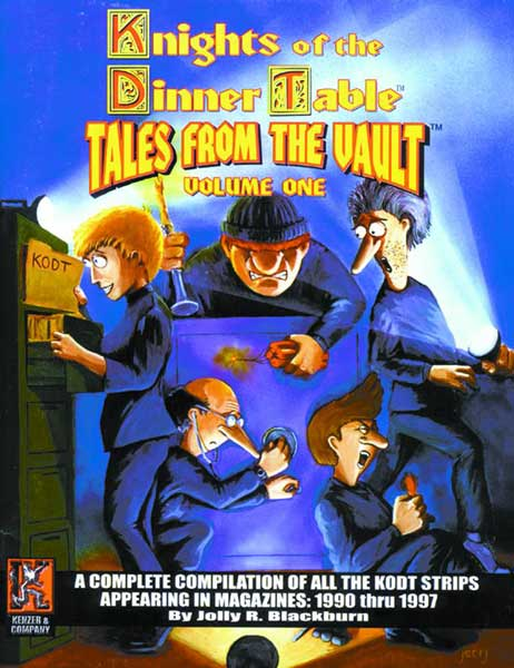 Image: Knights of the Dinner Table: Tales From the Vault Vol. 1 SC  - Kenzer & Company