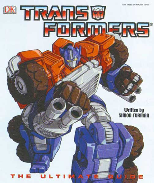 Image: Transformers: Ultimate Guide HC  -