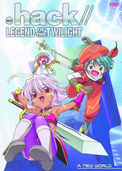 Image: .Hack// Legend of the Twilight Vol. 1: A New World DVD  -