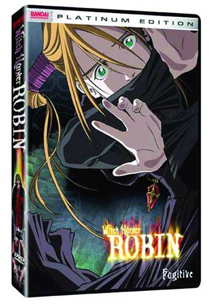 Image: Witch Hunter Robin Vol. 4: Fugitive DVD  -