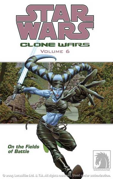 Image: Star Wars: Clone Wars Vol. 06 - On the Fields of Battle SC  - Dark Horse Comics