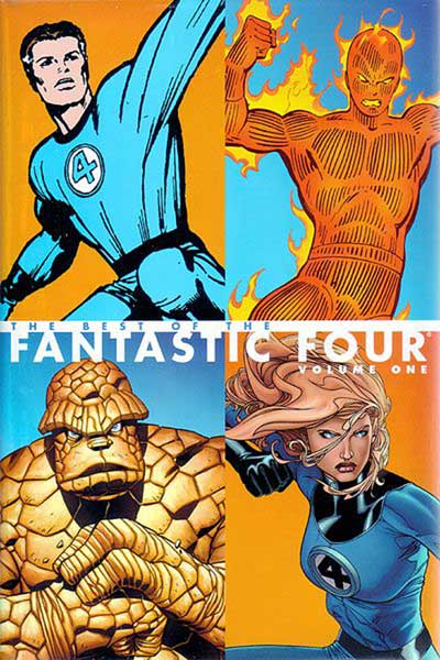 Image: Best of the Fantastic Four Vol. 01 HC  - Marvel Comics