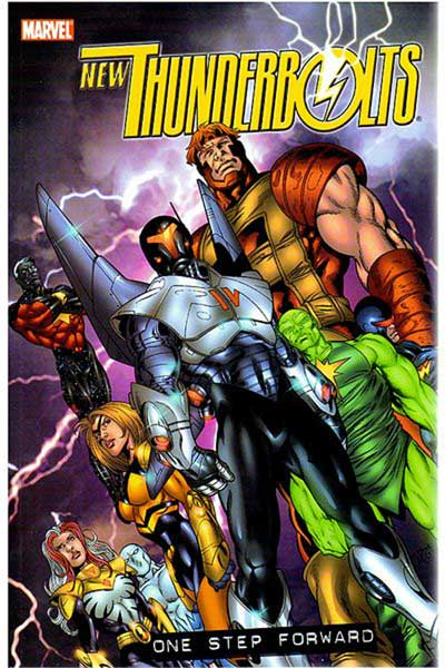 Image: New Thunderbolts Vol. 01: One Step Forward SC  - Marvel Comics