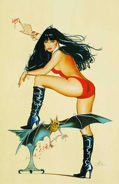 Image: Vampirella: Crimson Chronicles Vol. 3 SC  - Anarchy Studios / Harris Comics