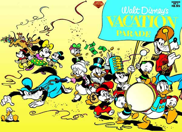 Image: Walt Disney's Vacation Parade #2 - Gemstone Publishing