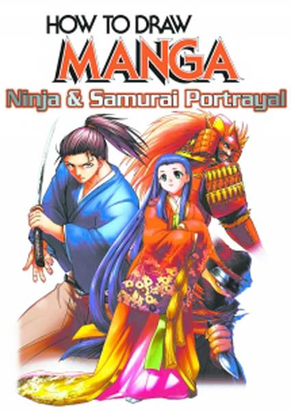 Image: How to Draw Manga: Ninja & Samurai Portrayal  -