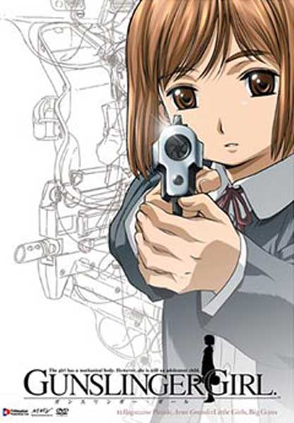 Image: Gunslinger Girl Vol. 1 DVD - Uncut  -