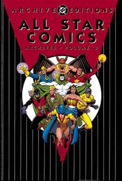 Image: All Star Comics Archives Vol. 03 HC  - DC Comics