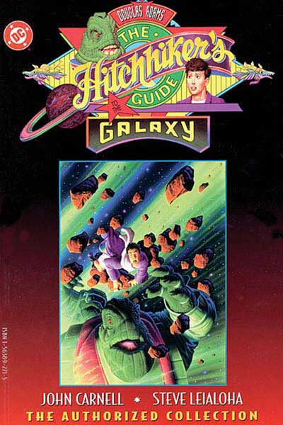 Image: Hitchhiker's Guide to the Galaxy SC  - DC Comics