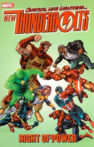 Image: New Thunderbolts Vol. 3: Right of Power SC  - Marvel Comics
