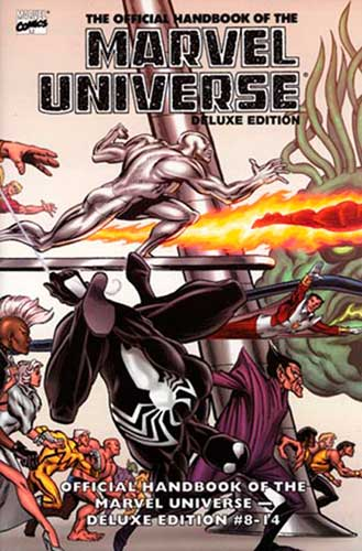 Image: Essential Official Handbook of the Marvel Universe Deluxe Ed. Vol. 02 SC  - Marvel Comics