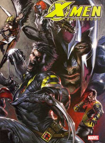 Image: X-Men Poster Book  - Marvel Comics