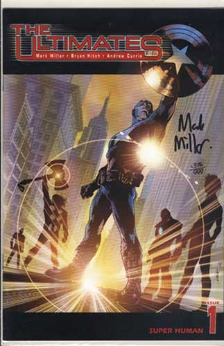 Image: Ultimates #1 (DF Mark Millar signed) - Marvel Comics