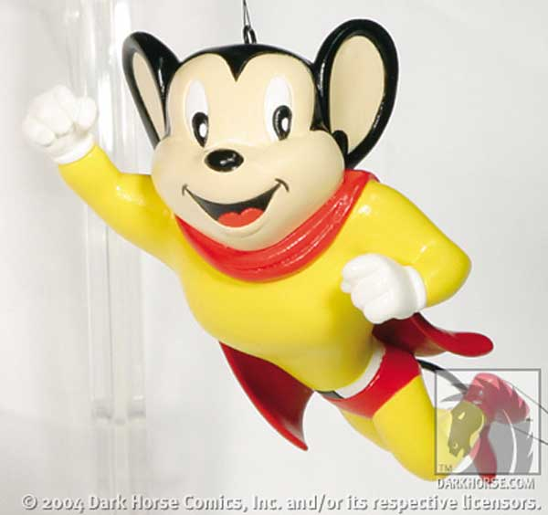 Image: Mighty Mouse Ornament  -