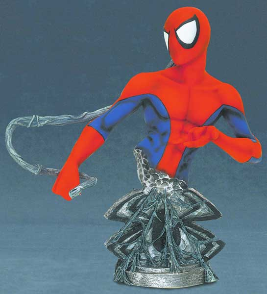 Image: Marvel Universe Bust: Spider-Man  - Marvel Comics