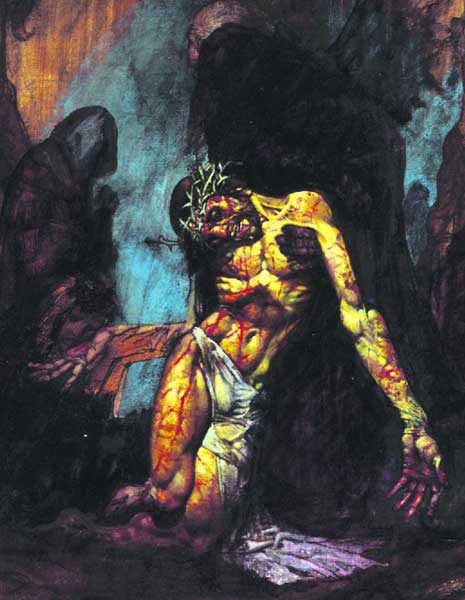 Image: Simon Bisley's Illustrations From the Bible HC  -
