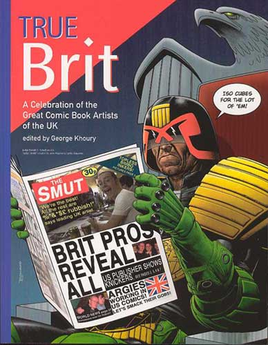 Image: True Brit SC  - Twomorrows Publishing