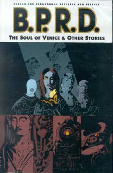 Image: B.P.R.D.: The Soul of Venice and Other Stories SC  - Dark Horse Comics