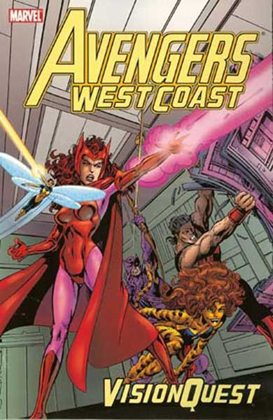Image: Avengers West Coast: Vision Quest SC  - Marvel Comics