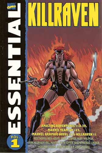 Image: Essential Killraven Vol. 01 SC  - Marvel Comics