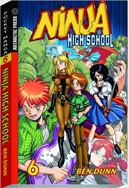 Image: Ninja High School Pocket Manga Vol. 06 SC  - Antarctic Press