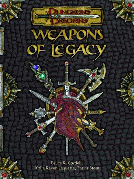 Image: Dungeons & Dragons: Weapons of Legacy HC  -