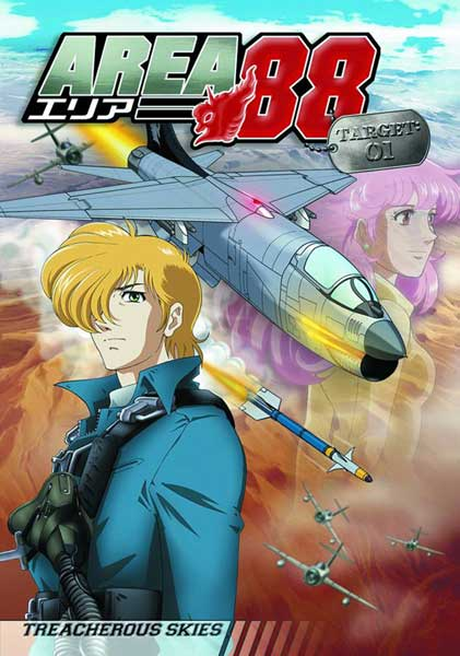 Image: Area 88 TV Vol. 01: Treacherous Skies  (DVD) -