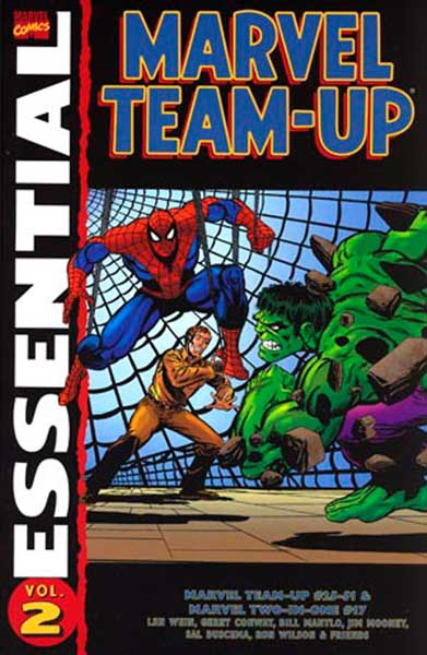 Image: Essential Marvel Team-Up Vol. 02 SC  - Marvel Comics