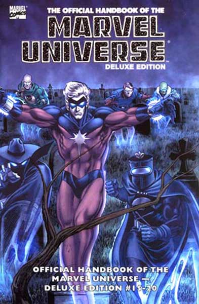 Image: Essential Official Handbook of the Marvel Universe Deluxe Ed. Vol. 03 SC  - Marvel Comics